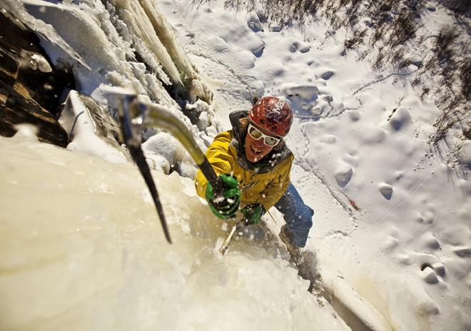 Klettergurt Eisklettern : Faszination eisklettern
