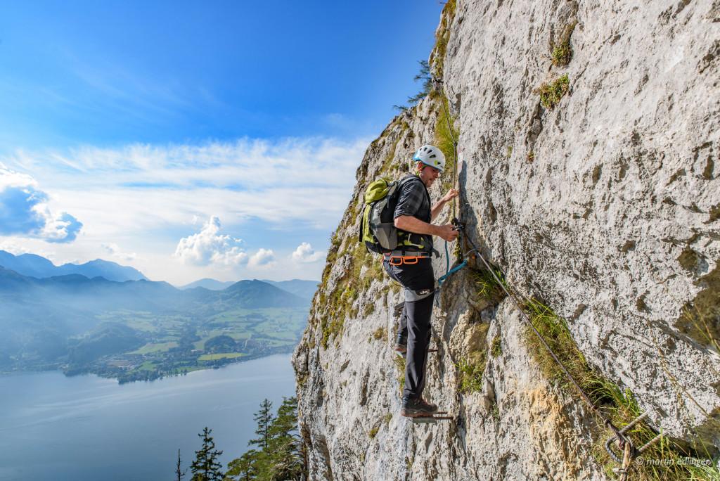 Klettersteig Traunstein : Klettersteige der naturfreunde